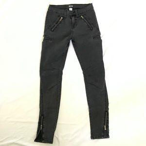 BDG Black Moto style skinny jeans sz. 26